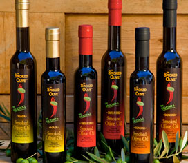 Smoked Olive olive oils