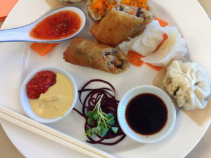 Dim sum at the SRJC Culinary Cafe.