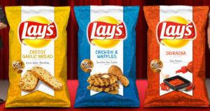 Mmmm. Chicken and waffle chips