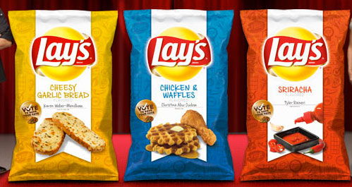 Lay's Chicken and Waffle Potato Chips?