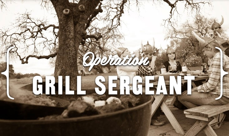Wanted: The Grill Sergeant