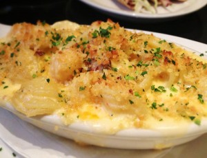 Lobster Mac and Cheese at Speakeasy