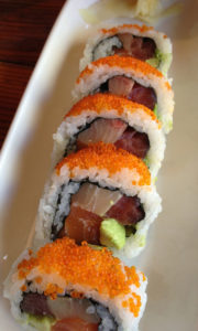 Roll Me A Fatty Sushi Roll at Haku Sushi in Santa Rosa