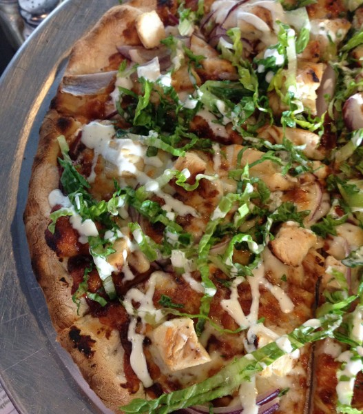 Barbecue Chicken Pizza at Art's Place in Rohnert Park