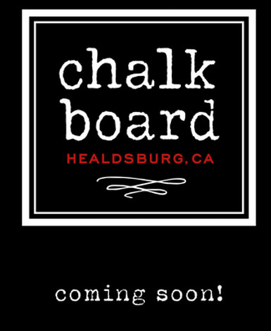 Sneak Peek at Chalkboard's Menu