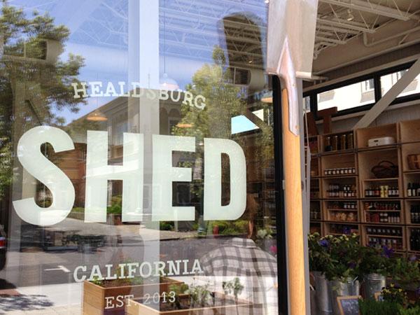 Shrubs at Shed Modern Grange in Healdsburg