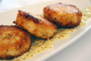 Crabcakes from Syrah