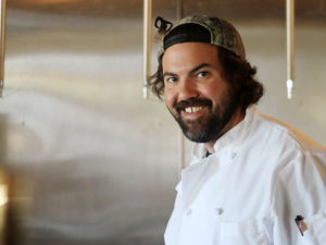 Chef Rob from Parish Cafe in Healdsburg
