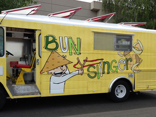 Bunslinger Food Truck in Sonoma County