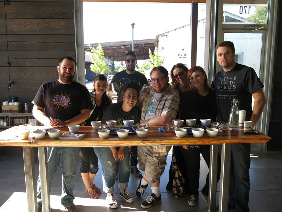Taylor Maid Coffee in Sebastopol