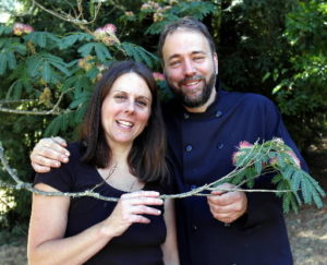 Amy and Chris Ludwick of Grapevine Catering winners of Harvest Fair professional food competition. PD File / Jeff Kan Lee