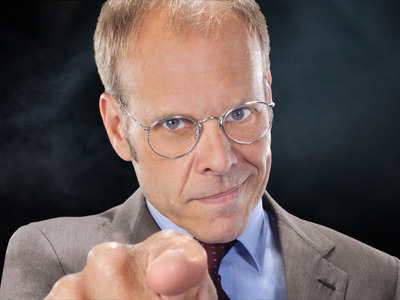 Alton Brown of the Food Network will be at the Wells Fargo Center