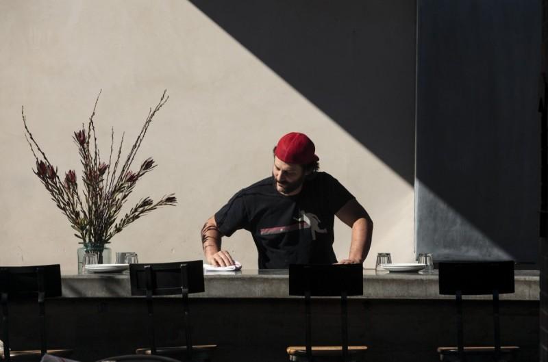 Ari Rosen owner/chef at Scopa and Campo Fina restaurants in Healdsburg