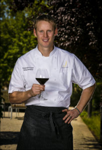 Chef Erik Johnson is the new top toque at J Vineyards in Healdsburg