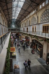The Ferry building looking west (photo by Chris Hardy)