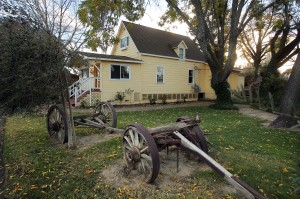 Guests can rent the Civil War-era farmhouse at the Larson Family Winery in Sonoma. (photo by John Burgess/The Press Democrat)