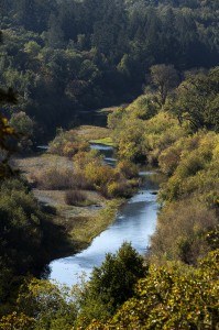 The Russian River on the edge or the property. (photo by Chris Hardy)