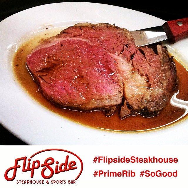 Flipside Steakhouse is OPEN