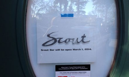 Scout , John and Zeke's opening in Healdsburg