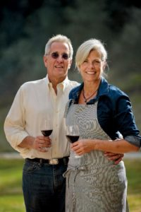 Colleen McGlynn and Ridgely Evers of DaVero Farm and Winery (photo by Chris Hardy)