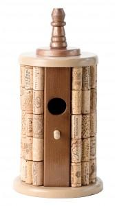 Cork Birdhouse from Urban Garden in Santa Rosa. (Alvin Jornada / The Press Democrat)