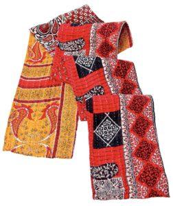 Vintage Sari Scarf from One World Fair Trade in Healdsburg. (Alvin Jornada / The Press Democrat)