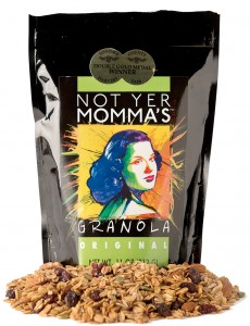 Not Yer Momma's Granola at local farmers markets and notyermommas.com. (Alvin Jornada / The Press Democrat)