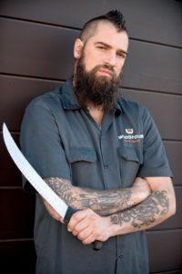 Chef Jamil Peden's tattoos