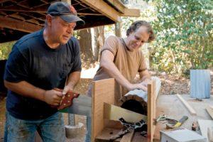 Phil Engel and Mark Goff's Healdsburg home