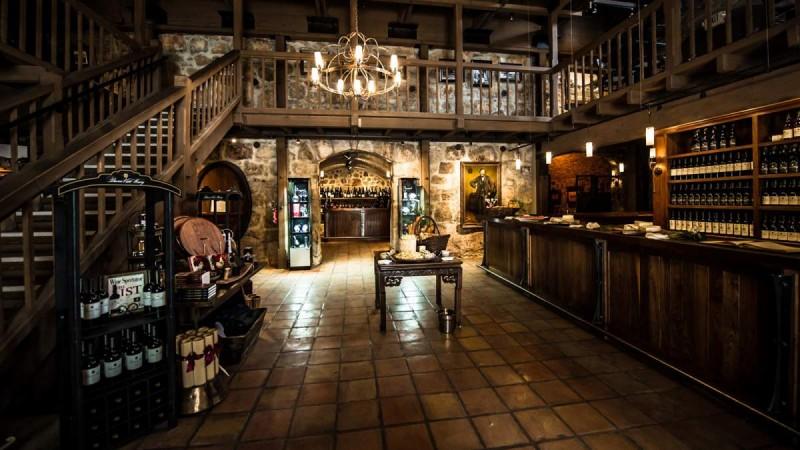 The Press House tasting room at Buena Vista Winery. (Photo courtesy of Buena Vista Winery)