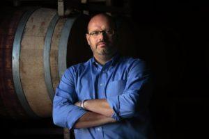 Csaba Szakal, owner of En Garde winery in Kenwood.