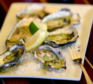 Oysters Nick-Erfeller at Nick's Cove in Marshall. (Kent Porter / Press Democrat)
