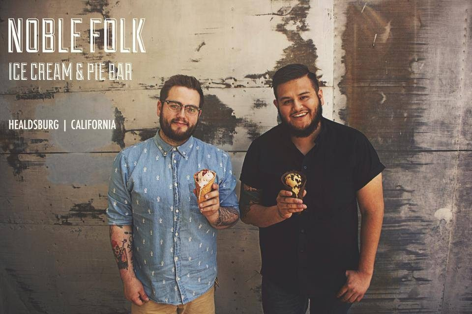 Noble Folk Ice Cream and Pie Bar Opening