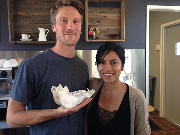 Naked Pig owners Dalia Martinez and Hason Sockach will open Flour and Bone in summer 2016 (heather irwin)