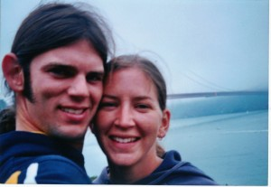 Jason Allen, 26, and Lindsay Cutshall, 22, took this photo of themselves days before they were found shot to death in August of 2004 on Fish Head Beach near Jenner.