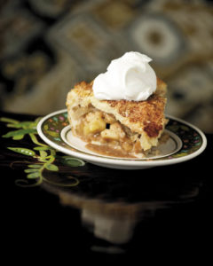Pink Lady Apple Pie is the perfect way to end a meal at Wishbone in Petaluma. (Alvin Jornada)