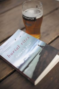 "Australian novelist Hannah Kent's first novel, ""Burial Rites,"" was part of the Copperfield's Books ""Debut Brews"" series, featuring rising young authors at HopMonk Tavern's beer garden in Sebastopol."
