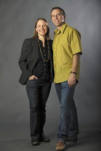 Amy Pinto and Brent Lindsay (photo by Crista Jeremiason)