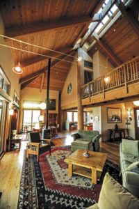 """Ilene Paul describes the home's interior as akin to a temple, a place of """"deep peace and calm."""""""