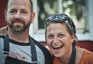 Chef Duskie Estes and John Stewart will be among the chefs cooking at the Rodney Strong Vineyards Celebrity Chef Tour Dinner on Sept. 20, 2014