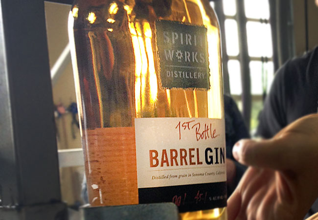 SpiritWorks Distillery: Barrel aged gin