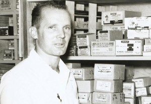 Chuck Williams in 1956. A Williams-Sonoma store will open in Sonoma in October 2014.