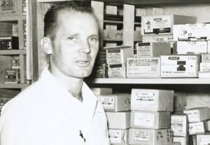 Chuck Williams in 1956. A Williams-Sonoma store will open in Sonoma in October 2014.