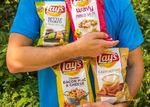 Bacon Potato Chips Selling on Ebay?