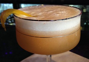 A Whiskey Sour at  Whiskey Tip in Santa Rosa