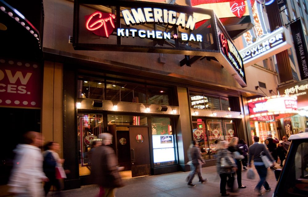 Guy Fieri S American Kitchen And Bar Top Grossing Restaurant