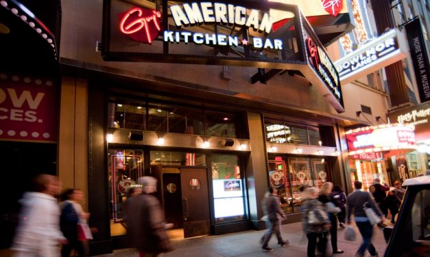 Guy Fieri's American Kitchen and Bar Top Grossing Restaurant