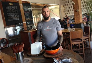 Jamil Peden will be leaving Woodfour Brewing in Sebastopol