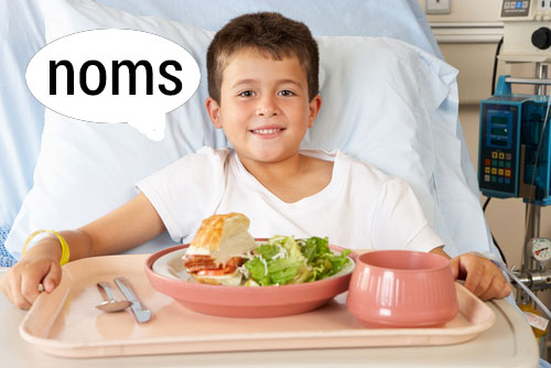 """Hospital """"Room Service"""" at Sutter 