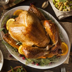 Chef John Ash's Roast Turkey Recipe